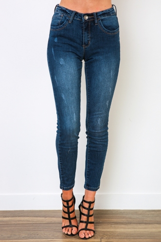 Nicki Jeans - Dark Denim