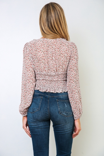 Pepper Top - White/Pink