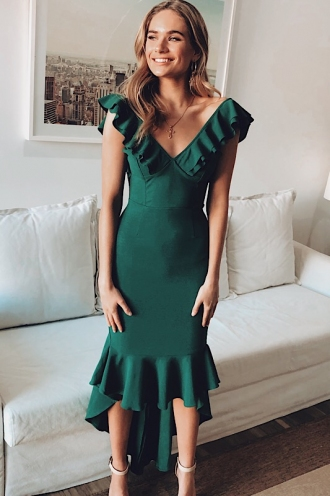 Haylee Dress- Green