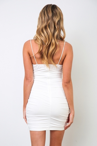 Janae Dress - White