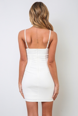Kaleigh Dress - White