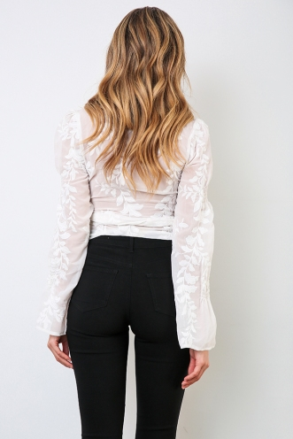 Light Of Day Top - White