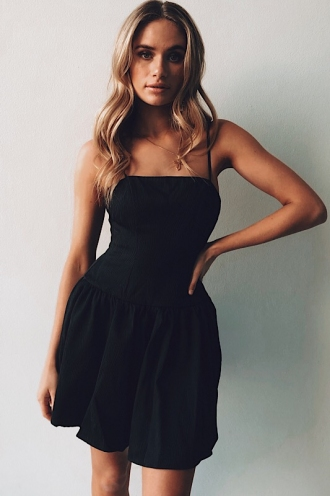 True Dress - Black