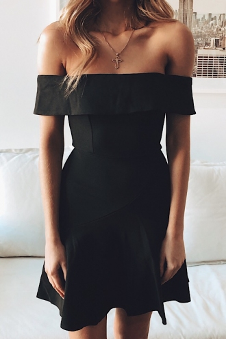 Lee-Anne Dress - Black