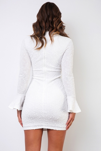 Deja Vu Dress - White