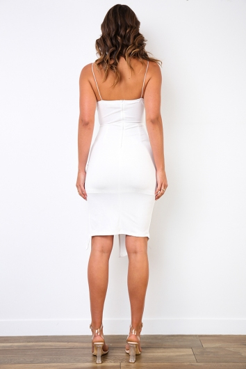 For Now Dress - White