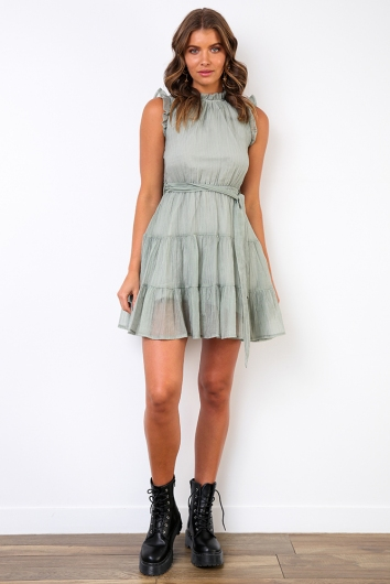 Delilah Dress - Sage