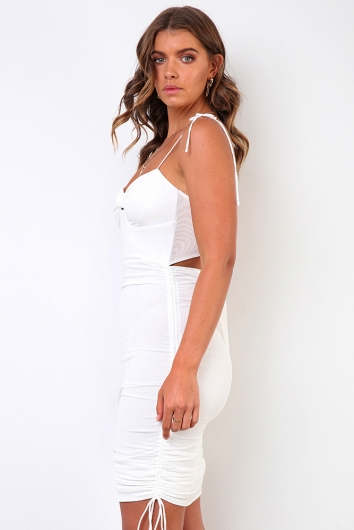 Isolation Dress - White