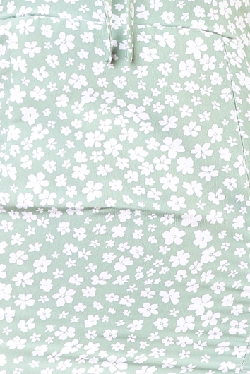 Unchained Melody - Green Floral