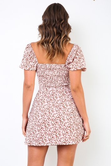 Who Knew Dress - Pink Floral