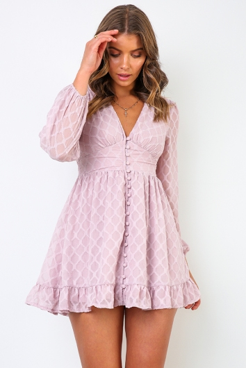 Winks Dress - Lilac