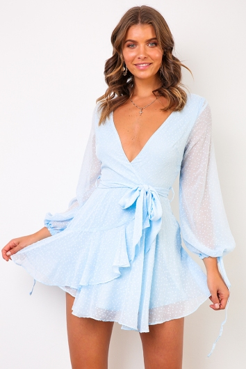 Cara Dress - Blue
