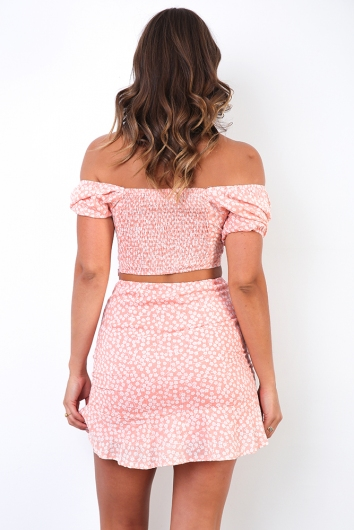 Ashley Top - Pink Print