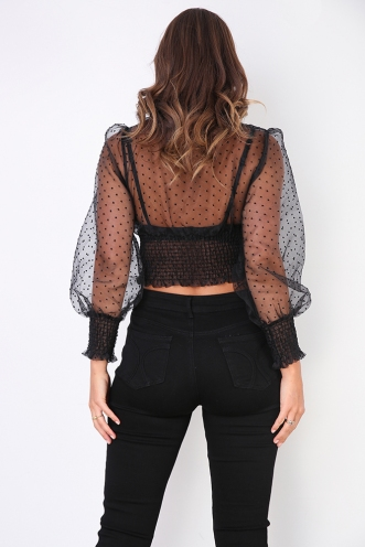 Candance Top - Black