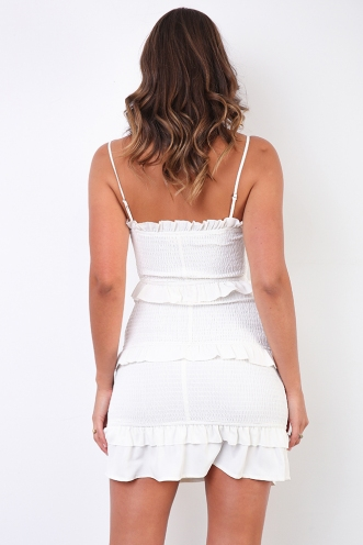 Skye Dress - White