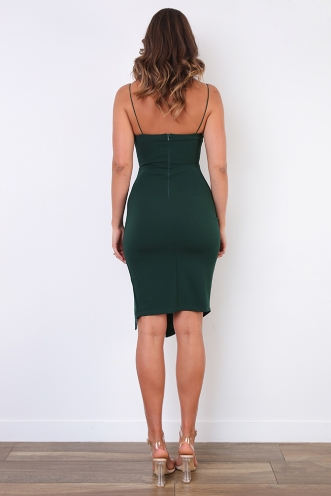 For Now Dress - Green
