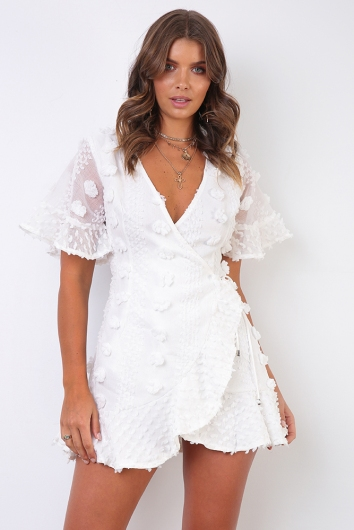 Penelope Spring Dress - White