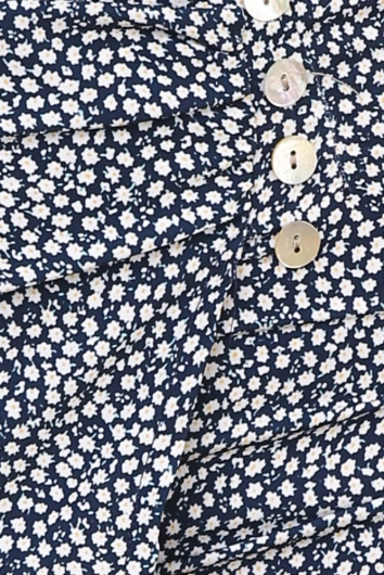 Do You Remember Shorts - Navy Floral