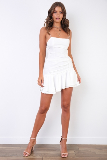 Magnify Dress - White