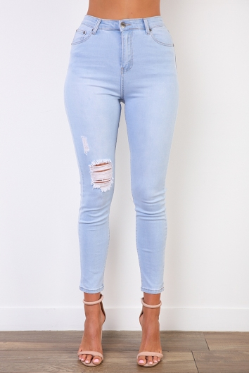 Hailey Jeans - Light Blue