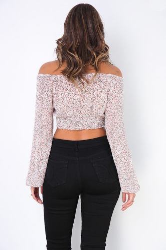 Karla Top - Mix Pink Print
