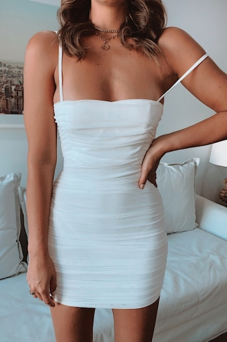 Prophet Dress - White