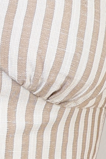Mimi Top - Beige Stripe