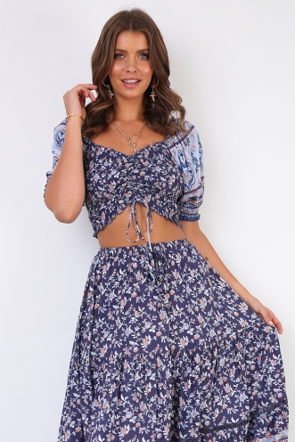 Bailie Top - Mix Blue