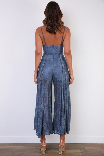 Shannyn Jumpsuit - Midnight Blue