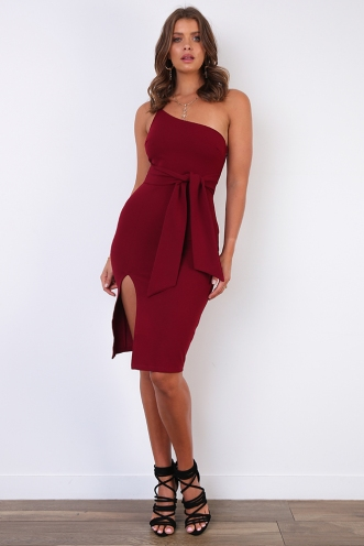Farryn Dress - Wine
