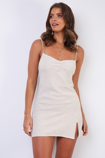 Ti-Arne Dress - Beige