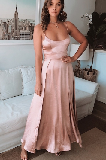 Gravity Dress - Rose Gold