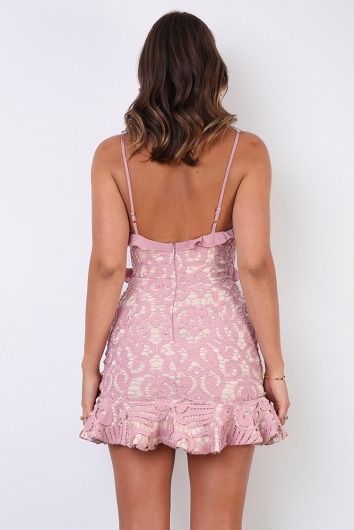 Analeese Mini Dress - Blush
