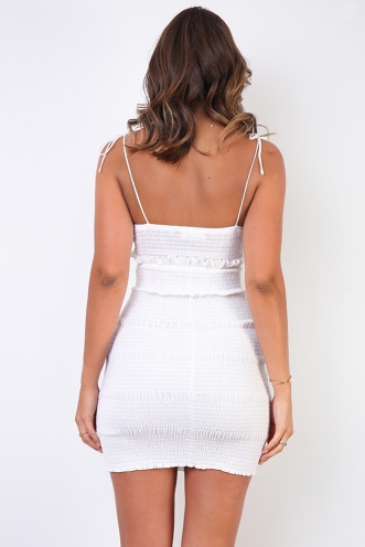Milany Dress - White