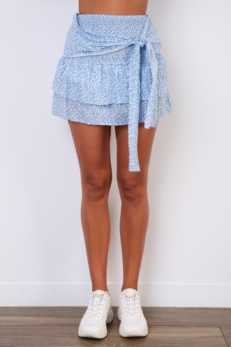 Ryleigh Skirt - Blue Print