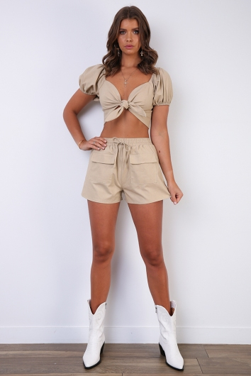 Sahara Top - Beige