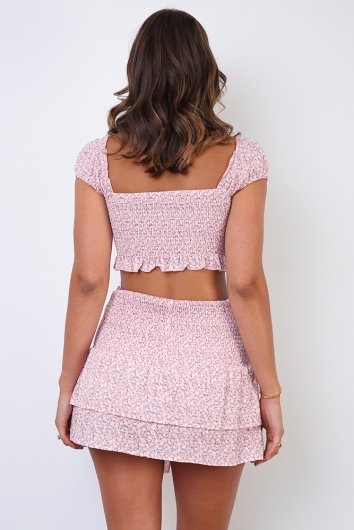 Ryleigh Top - Pink Print