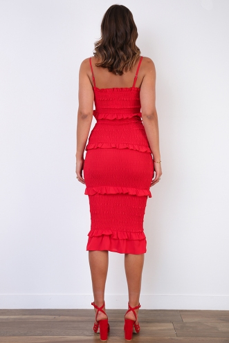 Dee Dress - Red