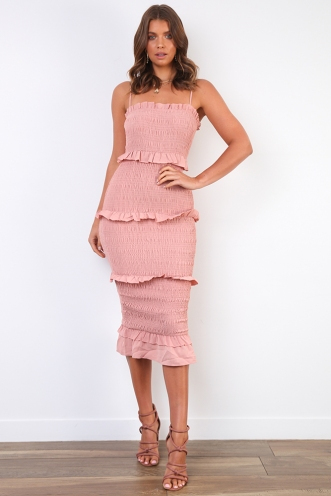 Dee Dress - Blush