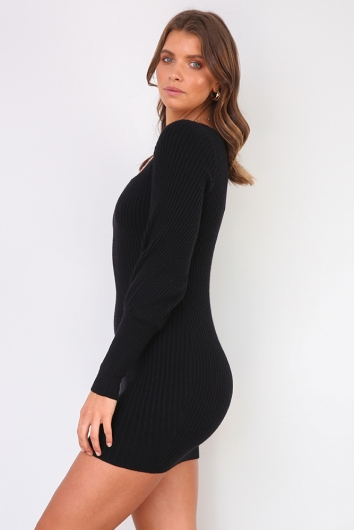 Karla Dress - Black
