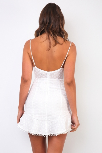 Annamarie Dress- White