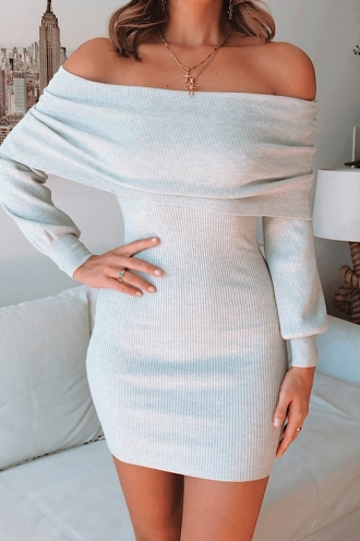 Kiana Dress - Grey