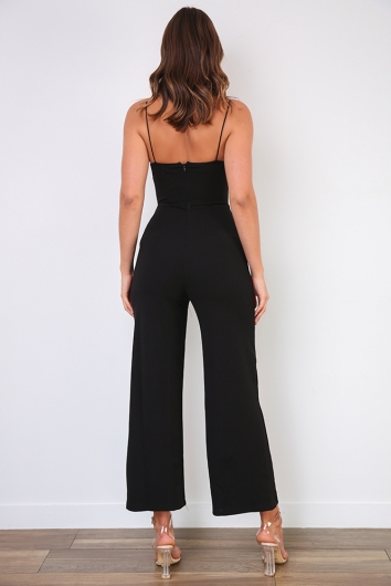 Be Myself Jumpsuit - Black