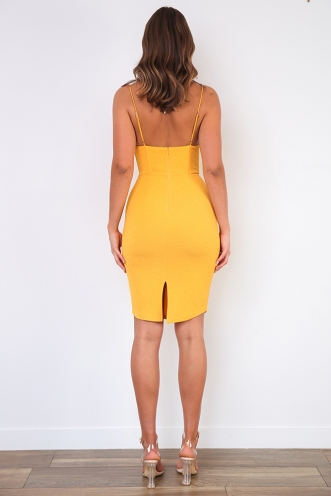 Real Thing Dress - Yellow