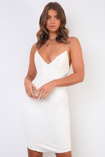 Real Thing Dress - White