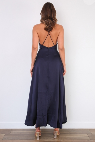 Pisey Dress - Navy