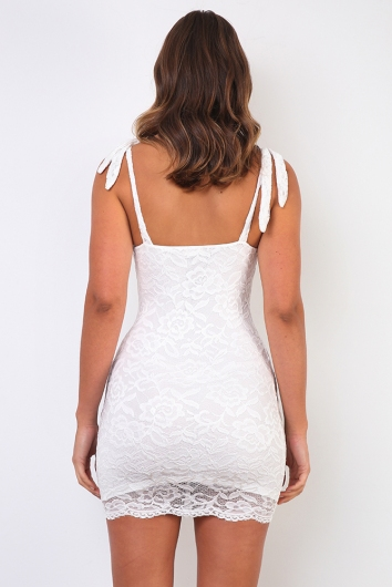 Disguise Me Dress - White