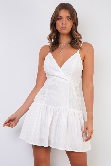 Summer In Florence Dress- White