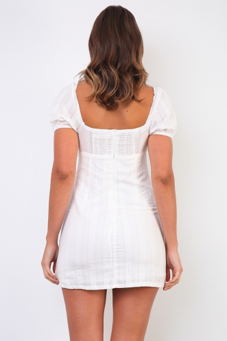 Summer In Italy Dress- White