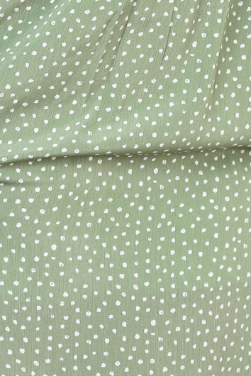 Felina Dress - Green Spot